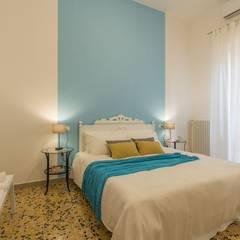 غرفة نوم تنفيذ Anna Leone Architetto Home Stager,