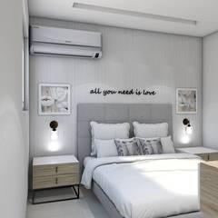 : Habitaciones de estilo  por ecoexteriores