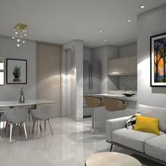 : Comedores de estilo  por Savignano Design
