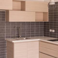 Apartamento 3: Cocinas de estilo  por santiago dussan architecture & Interior design