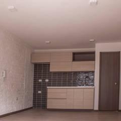 Apartamento 4: Cocinas de estilo  por santiago dussan architecture & Interior design