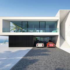 خانه ها by ALEXANDER ZHIDKOV ARCHITECT