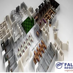 Office buildings by Falcon Resources