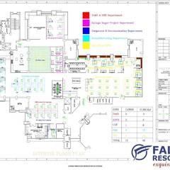Edificios de oficinas de estilo  por Falcon Resources