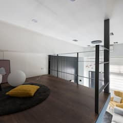 爵士藍調:  影音室 by 寓子設計
