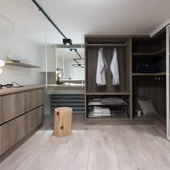 غرفة الملابس تنفيذ 寓子設計