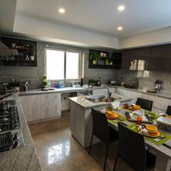 Tủ bếp theo Micasa Design,