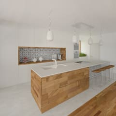 Cocinas de estilo  por AL ARCHITEKT -  in Wien, Moderno