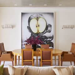 West Village Townhouse:  Dining room by andretchelistcheffarchitects