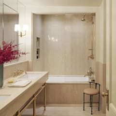 West Village Townhouse:  Bathroom by andretchelistcheffarchitects