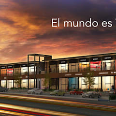 ​¡Compra o Renta tu local Ideal!: Centros Comerciales de estilo  por Sitio Capital