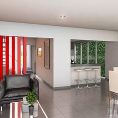 Salas modernas de Soluciones Técnicas y de Arquitectura Moderno