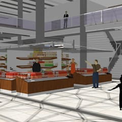 Commercial Spaces by 3D Arquitetura