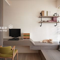 minimalistic Study/office by 顥岩空間設計