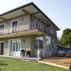 Villa 130mq stile Industrial - Shabby: Case in stile in stile Classico di T_C_Interior_Design___