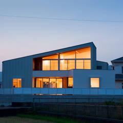 西国分の家: 株式会社田渕建築設計事務所が手掛けた一戸建て住宅です。,オリジナル