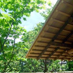 数奇屋門: 一級建築士事務所 匠拓が手掛けたアプローチです。
