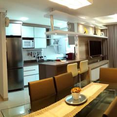 : Salas de jantar  por MRAM Studio,Moderno