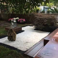 Giardino zen paesaggio idee e foto l homify for Pavimento giapponese