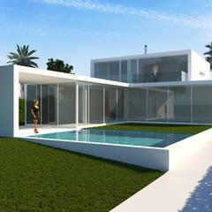 Maia e Moura Arquitecturaが手掛けたリゾートハウス