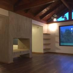 Remodelación Casa Mallarauco: Livings de estilo  por ARCOP Arquitectura & Construcción, Rural