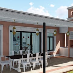 Teras oleh ARBOL Arquitectos , Kolonial