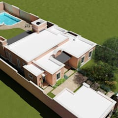 : Casas de estilo colonial por ARBOL Arquitectos