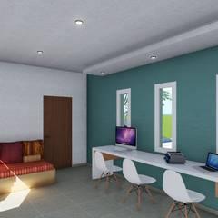 : Estudios y oficinas de estilo clásico por ARBOL Arquitectos
