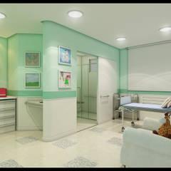 Apartamento Pediátrico : Hospitais  por Marcelo Brasil Arquitetura