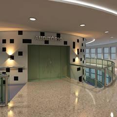 Auditório/Capela Hospital Adventista de Manaus: Hospitais  por Marcelo Brasil Arquitetura