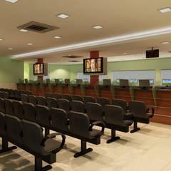 Recepção  Ambulatório Hospital Adventista de Manaus: Hospitais  por Marcelo Brasil Arquitetura
