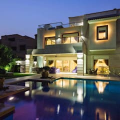Villas de estilo  por Hany Saad Innovations