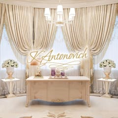 ​Office design ideas  from Katrina Antonovich:  Study/office by Luxury Antonovich Design