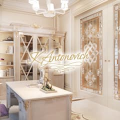 ​Office design ideas  from Katrina Antonovich: classic Study/office by Luxury Antonovich Design