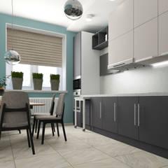 Квартира в Туле: Кухонные блоки в . Автор – Yana Ikrina Design,