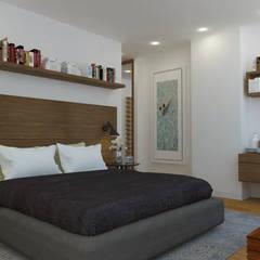 APARTAMENTO VALENBO II | Residencial: Habitaciones de estilo  por C | C INTERIOR ARCHITECTURE