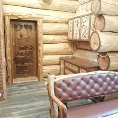 Мебель для бани и сауны: Кухонные блоки в . Автор – Мастерская Художественной Мебели DerevoDekor ,