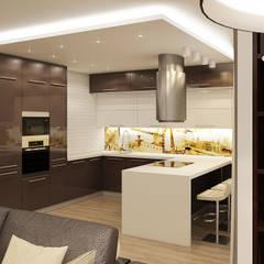Квартира на Фучика 3: Кухни в . Автор – Дизайн Студия 33