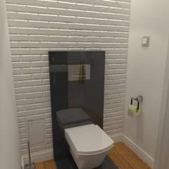 STARA KAMIENICA - Apartament 60 m2: styl , w kategorii Łazienka zaprojektowany przez HD PROJEKT