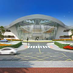 ARQUITECTURA: Aeropuertos de estilo  de AMUSEMENT LOGIC S.L.