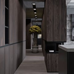 Corridor, hallway by U-Style design studio
