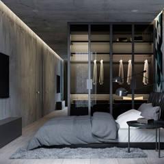 Интерьер под кодовым именем Q10: Спальни в . Автор – U-Style design studio
