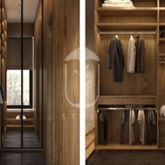 country Dressing room by U-Style design studio