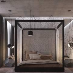 Марокко + минимализм: Спальни в . Автор – U-Style design studio