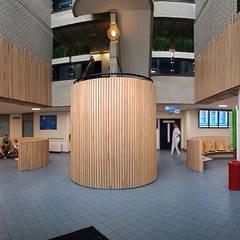 Hal LangeLand ziekenhuis Zoetermeer:  Ziekenhuizen door Jan Detz Interieurarchitect