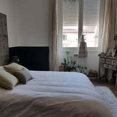 Décoration chambre principale: Chambre de style de style eclectique par La Conserverie d'Intérieurs