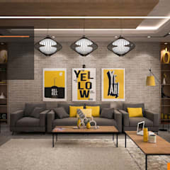 Living room by Line Designers