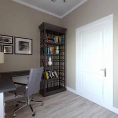 Дизайн-проект дома в Староникольское: Рабочие кабинеты в . Автор – Loft&Home