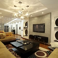 Media room by Hazem Hassan Designs