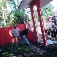 CASA EN SAN ANDRES TUXTLA: Casas unifamiliares de estilo  por FRANCISCO MONTIEL
